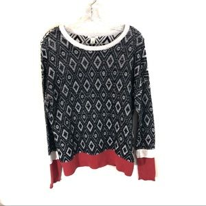 Caslon Chunky Knit Crew Neck Sweater